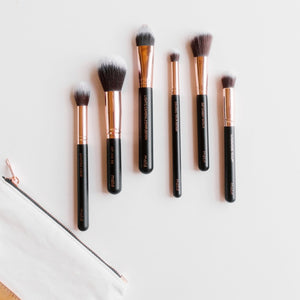 Pretty Perfect Essential Face Makeup Brush Set <br />完美面部化妝掃套裝 - Reussiintl.com