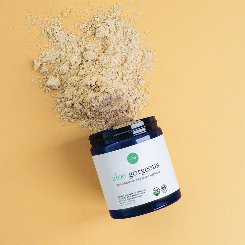 Vegan Collagen-Boosting Powder - 240g - Ora Organic | Vegan Concept Hong Kong