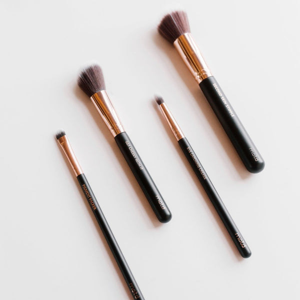 Wanderlust Travel Makeup Brush Set - Vegan Concept