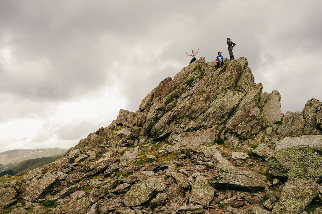 The Howitzer summit of Helm Crag