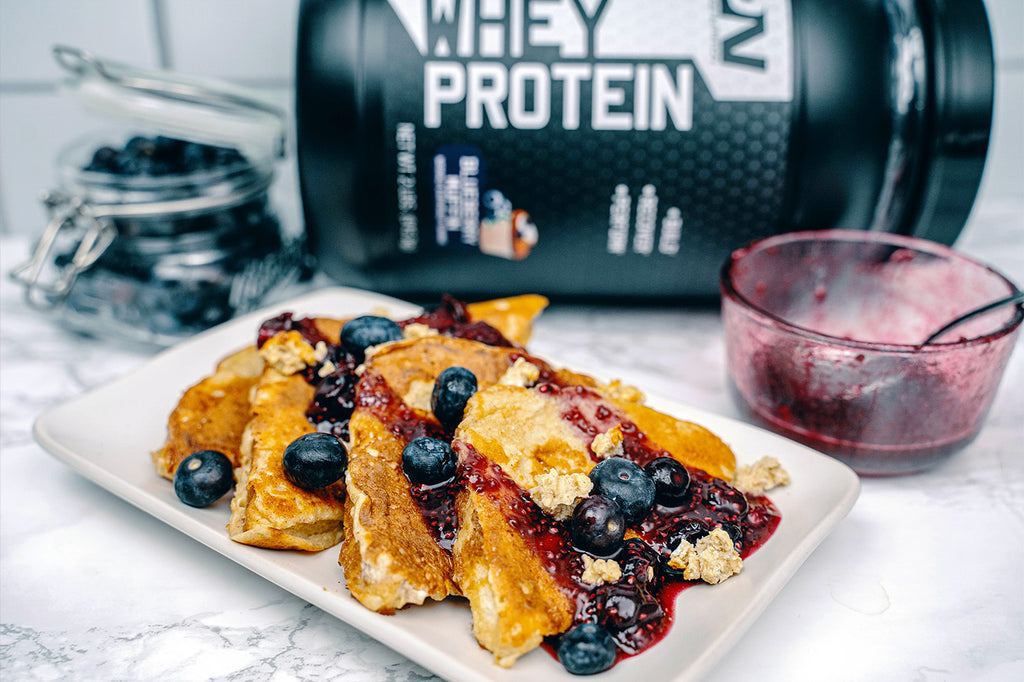 Blueberry Muffin Protein French Toast