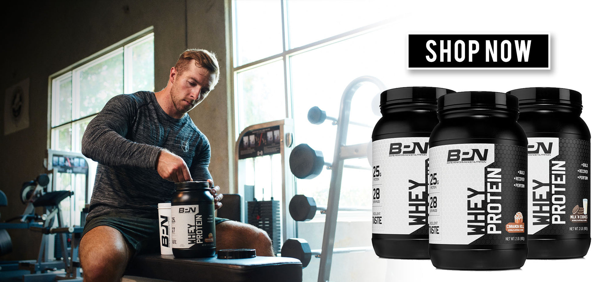 Shop Whey Protein from BPN