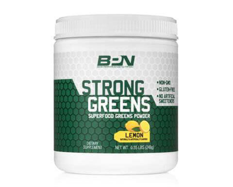 Strong Greens BPN bottle
