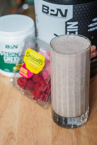 best tasting chocolate fudge protein shake