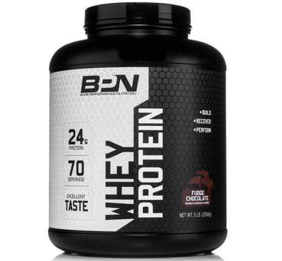 BPN Chocolate Fudge Whey Protein Powder