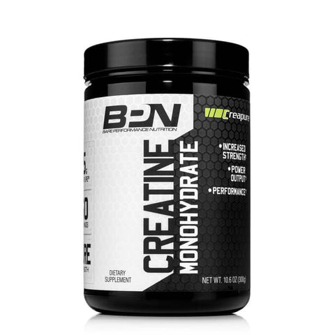A container of BPN Creatine Monohydrate