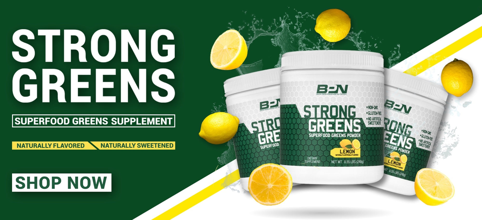 BPN Super Greens Superfood Greens Supplement