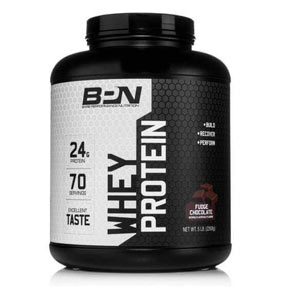 Fudge Chocolate Whey Protein BPN Fitness Supplement