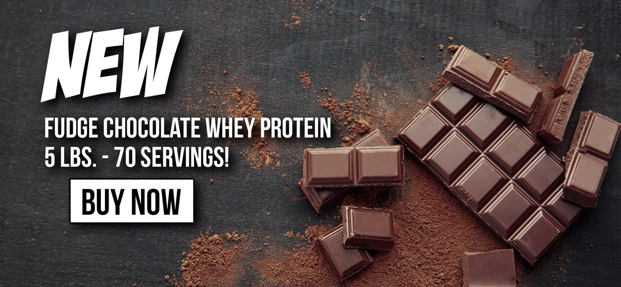 Whey Protein Fudge Chocolate