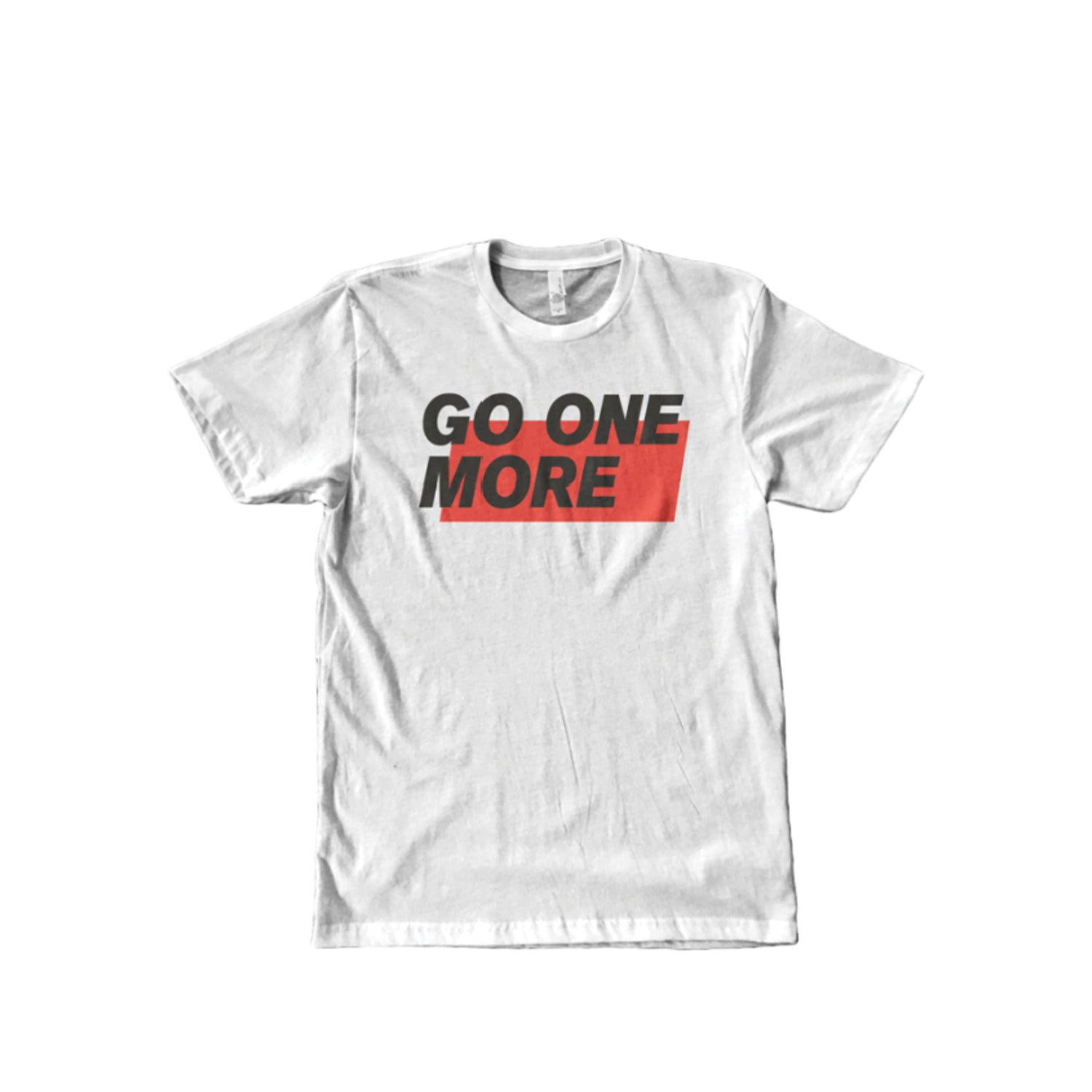 Go One More Tee (White)