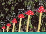 Garden Mushrooms - Set of 3 Micro-sized
