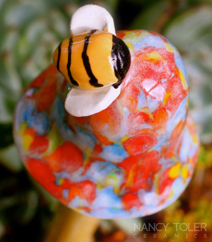 Bee Mushroom - Rainbow Bridge
