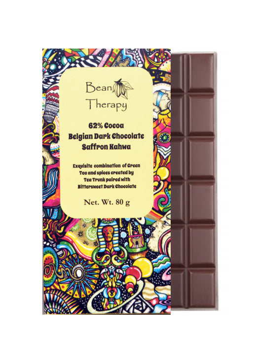 Saffron Kahwa - Bean Therapy Chocolate