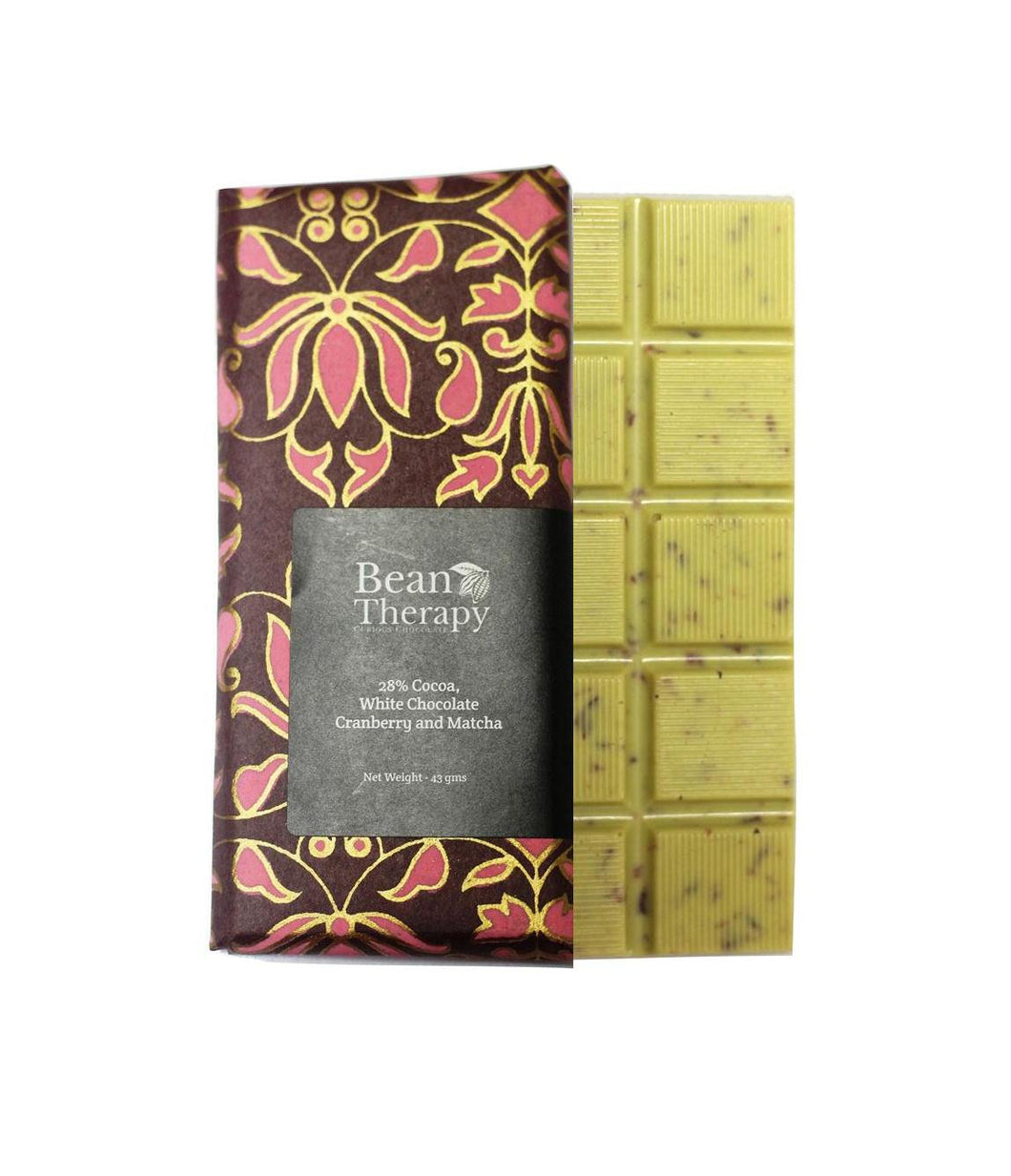 Cranberry and Matcha - Bean Therapy Chocolate