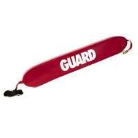 "40"" RESCUE TUBE WITH WITH BRASS CLIPS & GUARD LOGO"