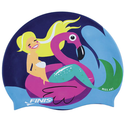 Flamingo Mermaid Silicone Cap