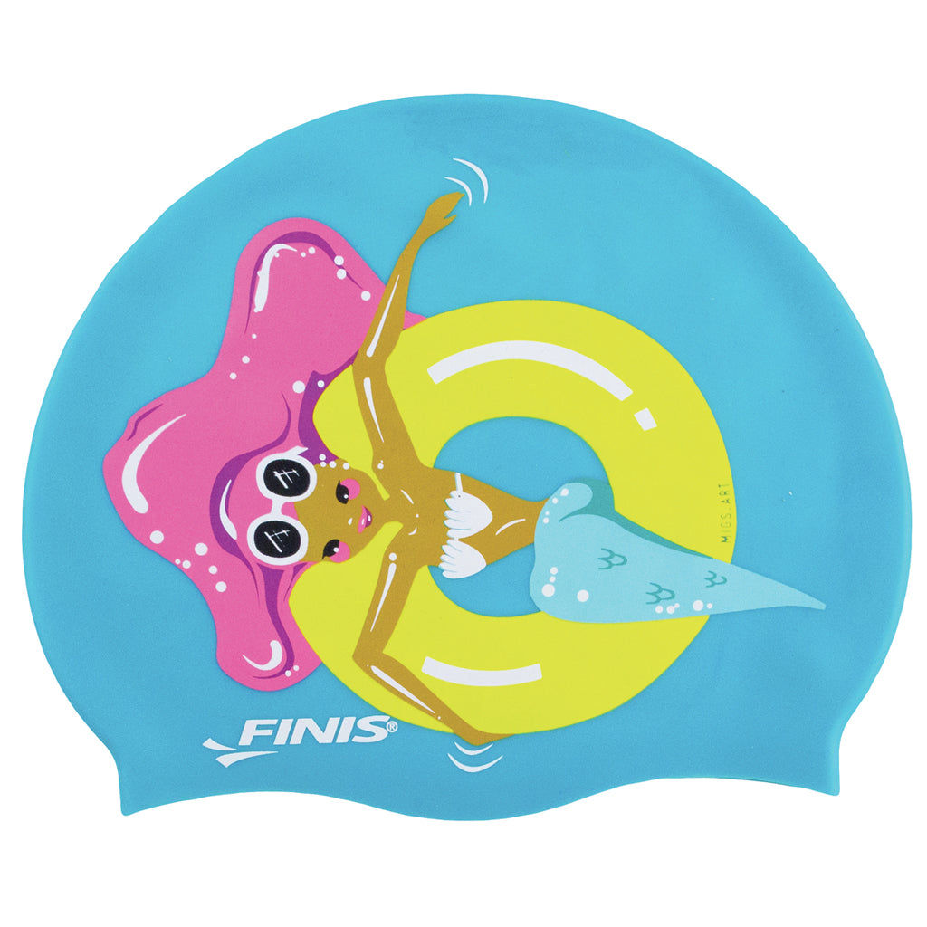 Floaty Mermaid Silicone Cap