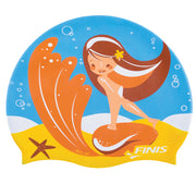 Starfish Mermaid Silicone Cap