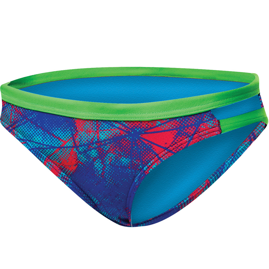 TYR WOMEN'S CANVAS COVE BIKINI BOTTOM