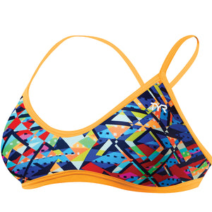 TYR WOMEN'S MOSAIC TRINITY TOP