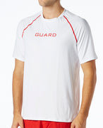 TYR GUARD MEN'S SHORT SLEEVE RASHGUARD