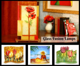 Glass Fusion Lamps