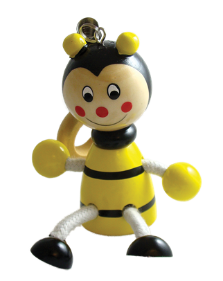 Bee Bouncy Buddies - 3.75""