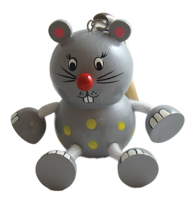 Mouse Bouncy Buddies - 4.25""