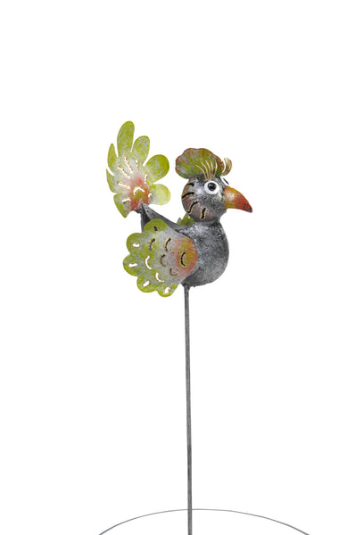"Garden Stake ""Eva"" Set Of 6 - Multicolor"