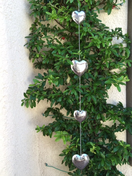Heart Shaped Stainless Steel Gazing Chain