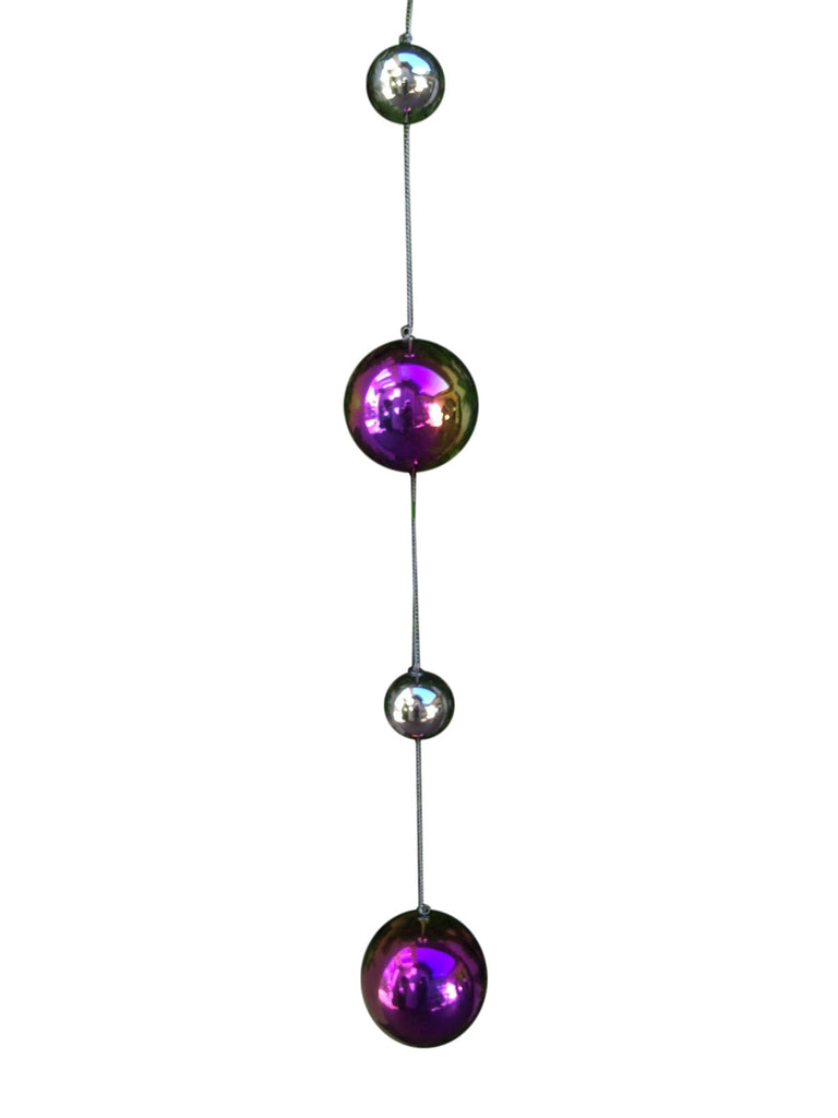 Stainless Steel Gazing Chain With 4 Spheres
