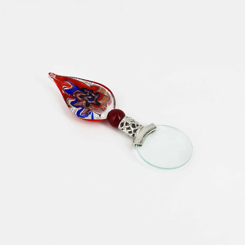 Magnifying Glass - Red/Blue Glass Handle