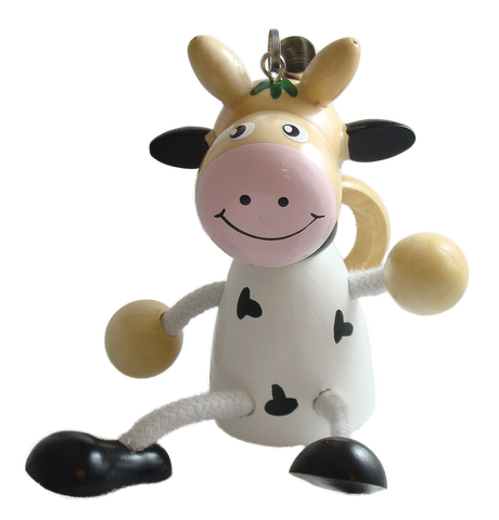 Cow Bouncy Buddies - 3.75""