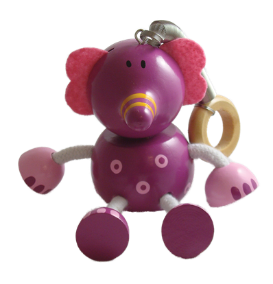 Elephant Bouncy Buddies - 3.75""