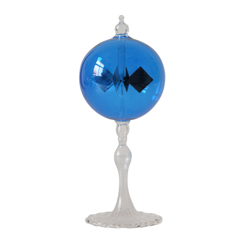 "Radiometer 2.25"" Diameter Blue Sphere Tapered Stem"