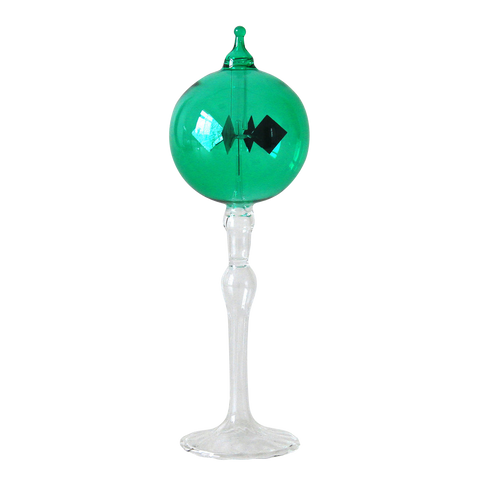 "Radiometer 2.25"" Diameter Green Sphere Tapered Stem"
