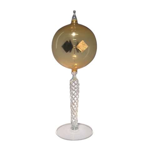 RADIOMETER BRAIDED STEM WITH COGNAC SPHERE