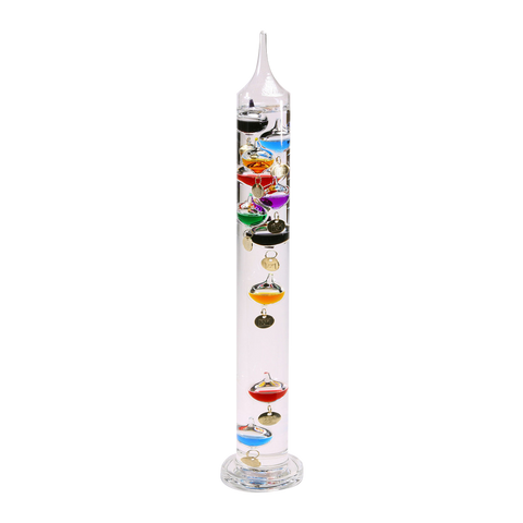 Galileo Thermometer Glass 18""