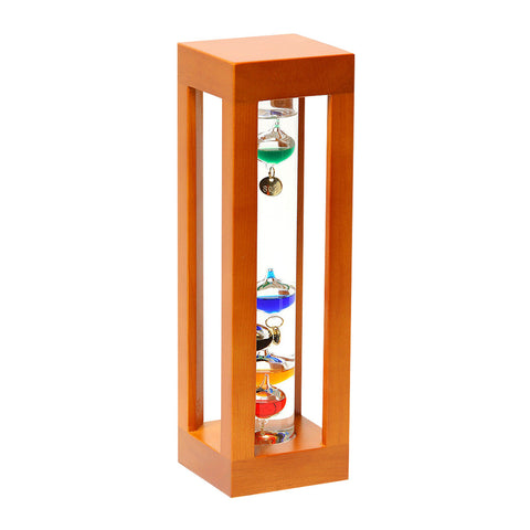 GALILEO THERMOMETER Great gifts for men Natural Wood
