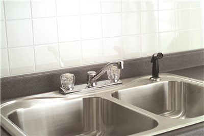 CONCORD KITCHEN FAUCET WITH SPRAY CHROME - Score Materials - 2