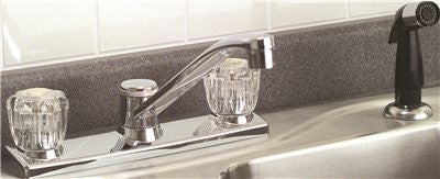 CONCORD KITCHEN FAUCET WITH SPRAY CHROME - Score Materials - 1