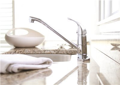 PREMIER® WESTLAKE™ SINGLE-HANDLE KITCHEN FAUCET WITHOUT SIDE SPRAY, CHROME - Score Materials - 2