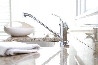 PREMIER® WESTLAKE™ KITCHEN FAUCET WITH SINGLE HANDLE AND SIDE SPRAY, 1.8 GPM, CHROME* - Score Materials - 2