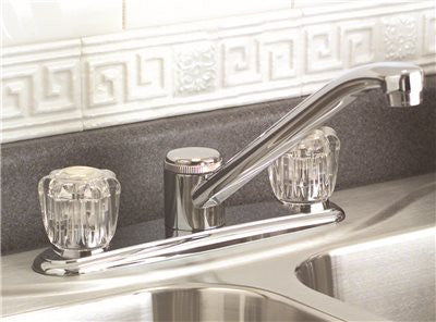 PREMIER® BAYVIEW™ KITCHEN FAUCET WITH TWO HANDLES, CHROME, LEAD FREE - Score Materials - 2