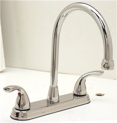PREMIER® WESTLAKE™ KITCHEN FAUCET WITH TWO HANDLES, 1.8 GPM, CHROME, LEAD FREE* - Score Materials - 2