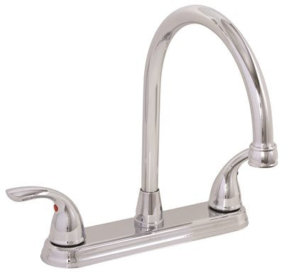 PREMIER® WESTLAKE™ KITCHEN FAUCET WITH TWO HANDLES, 1.8 GPM, CHROME, LEAD FREE* - Score Materials - 1