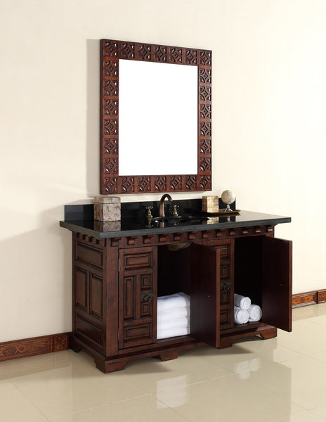 "James Martin Solid Wood 60"" Monterey Single Bathroom Vanity In Antique Brandy 170-V60S-ANB - Score Materials - 2"