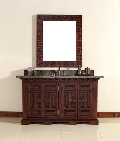 "James Martin Solid Wood 60"" Monterey Single Bathroom Vanity In Antique Brandy 170-V60S-ANB - Score Materials - 7"
