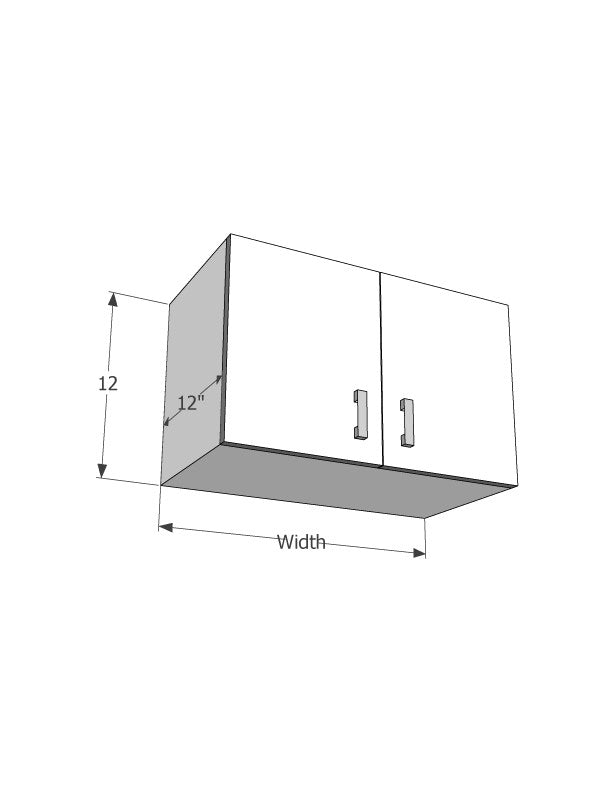 "Wall cabinet (12"" in height) - Score Materials"