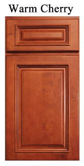 "Blind Wall 36""  Cabinet Warm Cherry - Score Materials - 2"